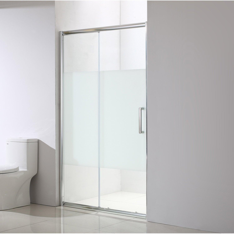 Porte de douche coulissante quad leroy merlin - Vitre douche leroy merlin ...