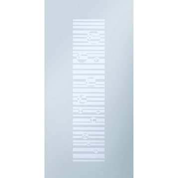 Porte coulissante eclisse verre 211x 73cm leroy merlin - Porte coulissante en verre 73 cm ...