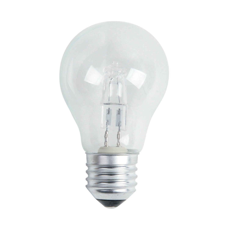 Ampoule Standard Halog Ne 77w Lexman E27 Lumi Re Chaude Environ 2700 K Leroy Merlin
