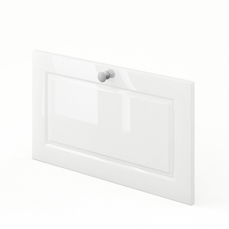 tiroir sous lave vaisselle de cuisine blanc chelsea x x cm leroy merlin. Black Bedroom Furniture Sets. Home Design Ideas