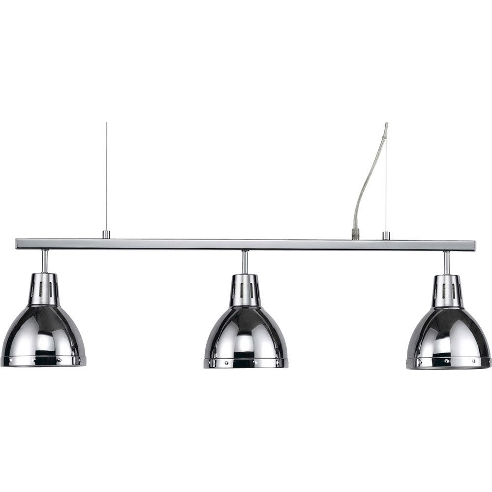 suspension pop cynthia xl m tal chrome 3 x 40 w seynave leroy merlin. Black Bedroom Furniture Sets. Home Design Ideas