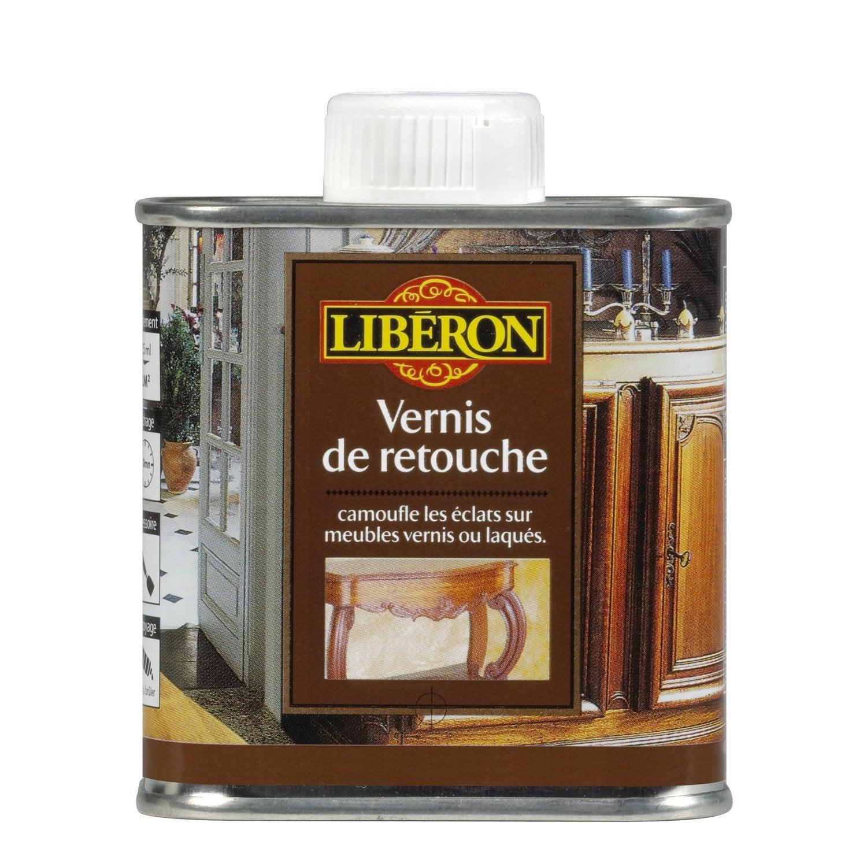 Vernis retouche meuble et objets liberon satin ch ne moyen leroy m - Vernis marin leroy merlin ...