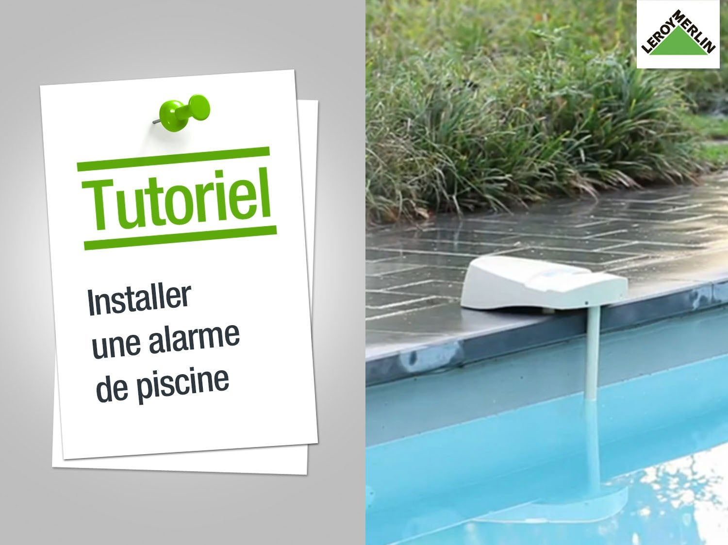 Margelle piscine leroy merlin piscine leroy merlin pas for Installer une piscine