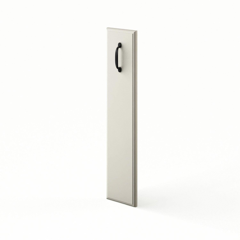 Porte de cuisine chanvre ol ron x cm leroy merlin for Porte 70 cm de large