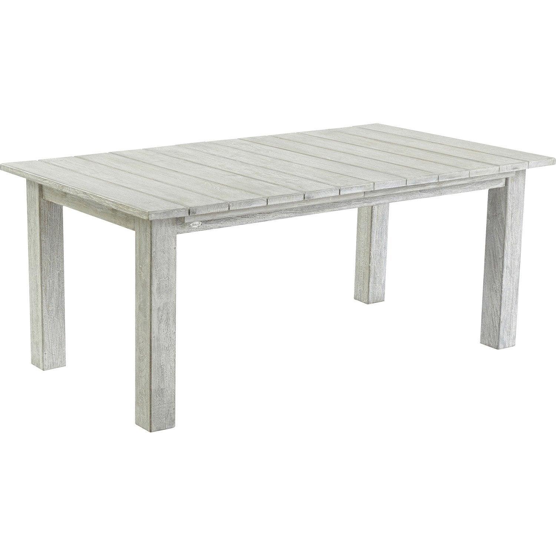 Table de jardin rectangulaire vintage leroy merlin - Table pliante de jardin leroy merlin ...
