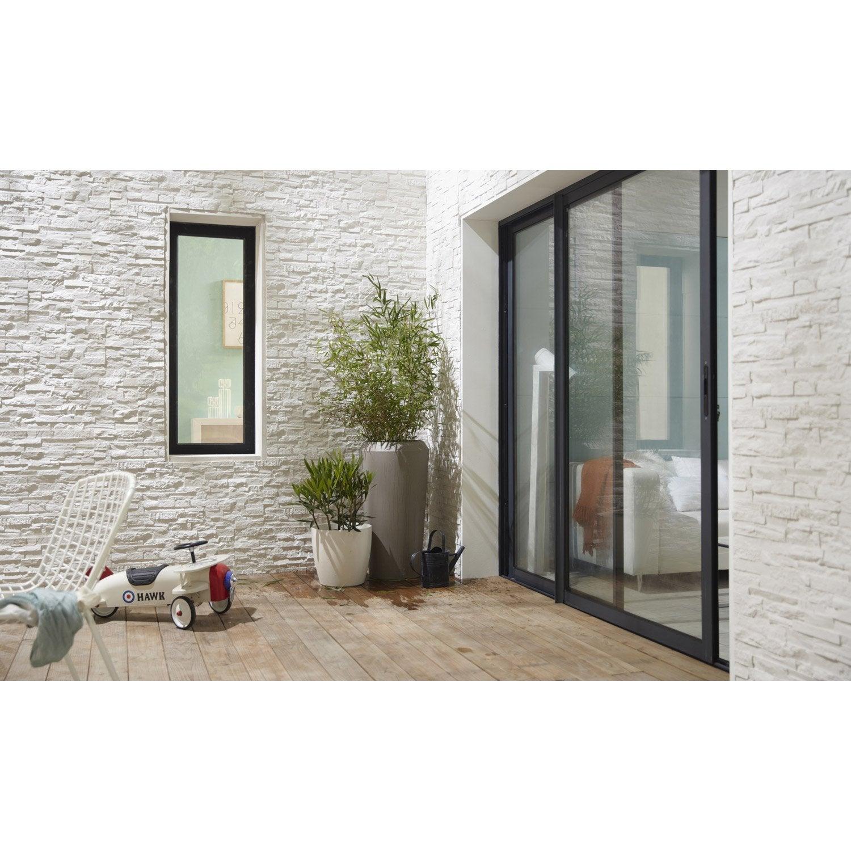 lot de 7 panneaux blanc polyur thane thermart mm leroy merlin. Black Bedroom Furniture Sets. Home Design Ideas