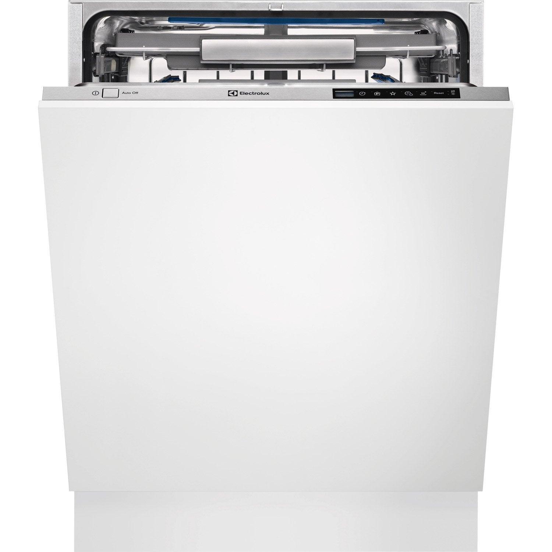 lave vaisselle int grable cm electrolux esl 7740 ra 13 couverts leroy merlin. Black Bedroom Furniture Sets. Home Design Ideas