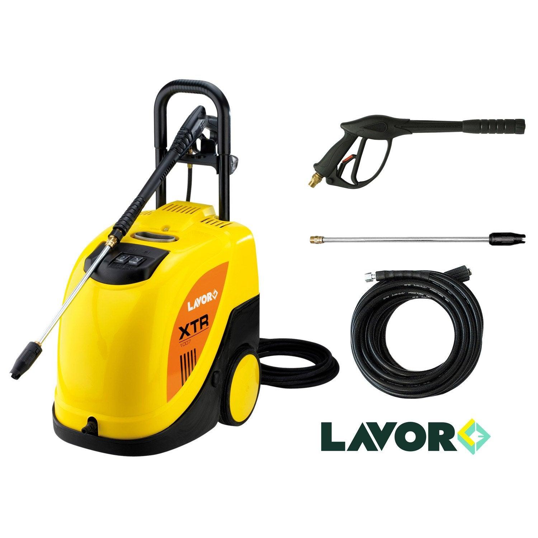 Nettoyeur haute pression eau chaude lavor xtr 1007 135 bar s 420 l h ler - Nettoyeur haute pression pour toiture ...