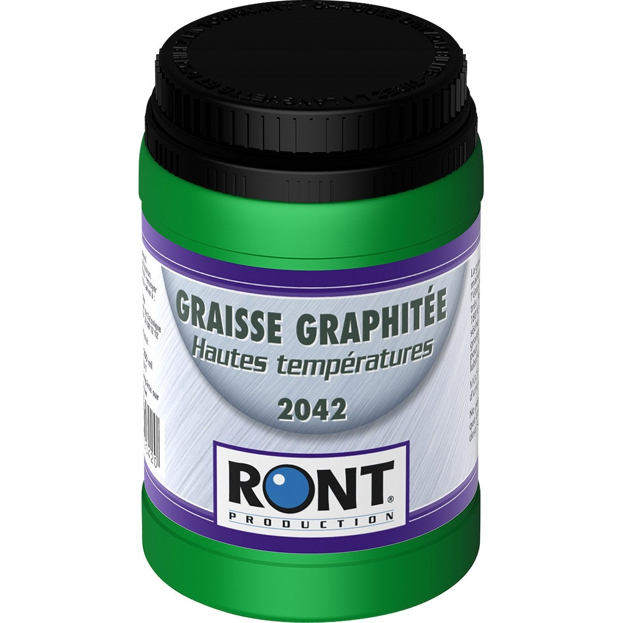 Graisse graphit e en pot 200 g ront production leroy merlin for Peinture haute temperature leroy merlin