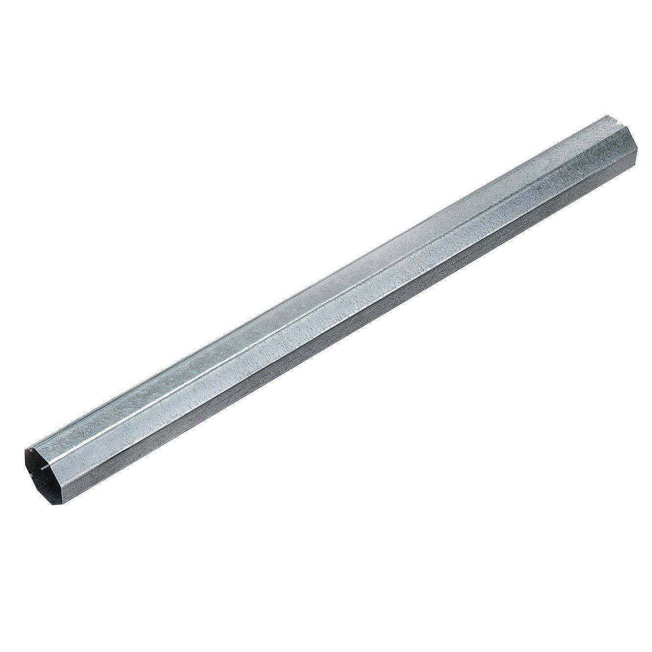 Rallonge de tube windoroll pour motorisation de volet for Tube rectangulaire alu leroy merlin
