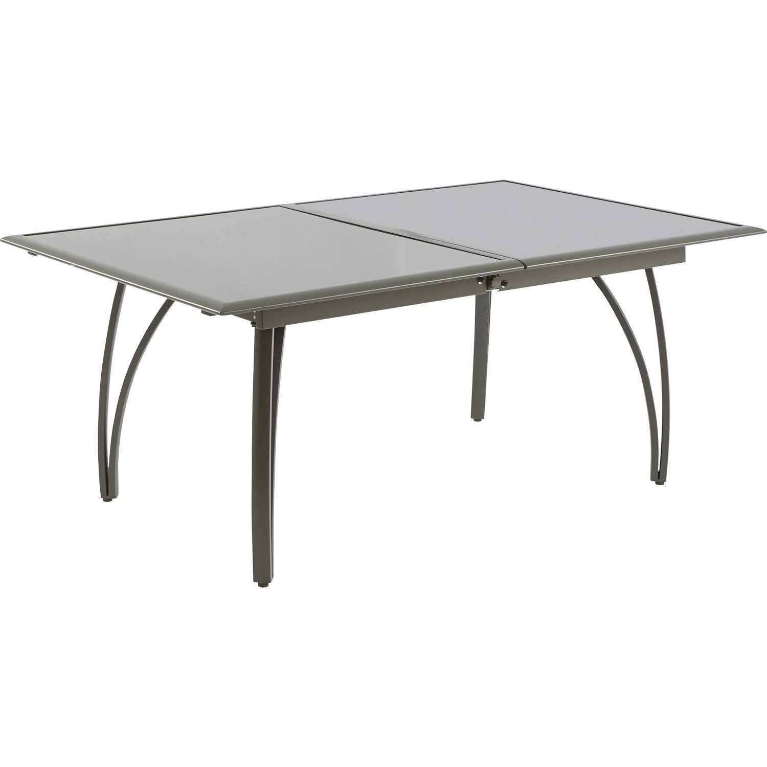 beautiful table metal de jardin a allonges nismo ideas awesome interior home satellite. Black Bedroom Furniture Sets. Home Design Ideas