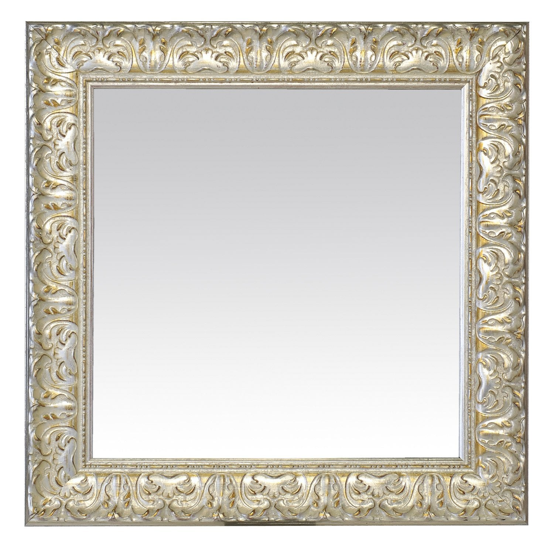 Miroir orn blanc x cm leroy merlin for Miroir 50 x 70 leroy merlin