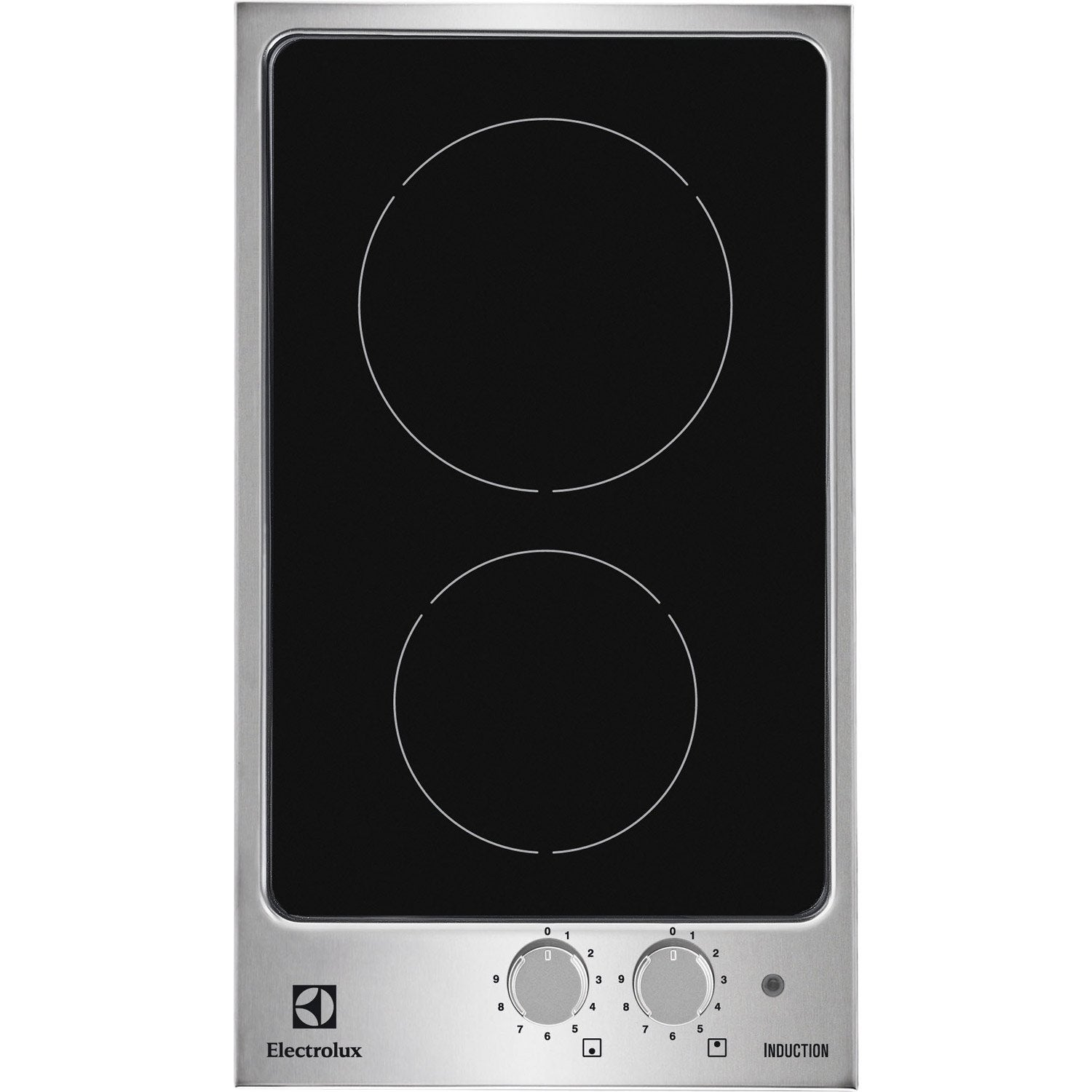 Plaque induction electrolux ehh3920iox 2 foyers leroy - Plaque a induction 2 feux ...