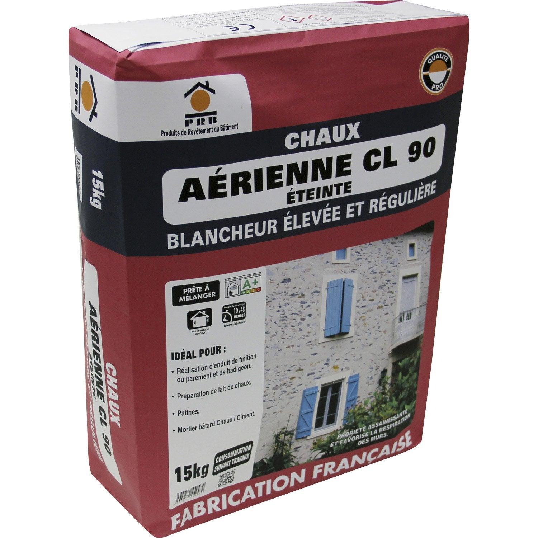 chaux blanche ce prb 15 kg leroy merlin. Black Bedroom Furniture Sets. Home Design Ideas