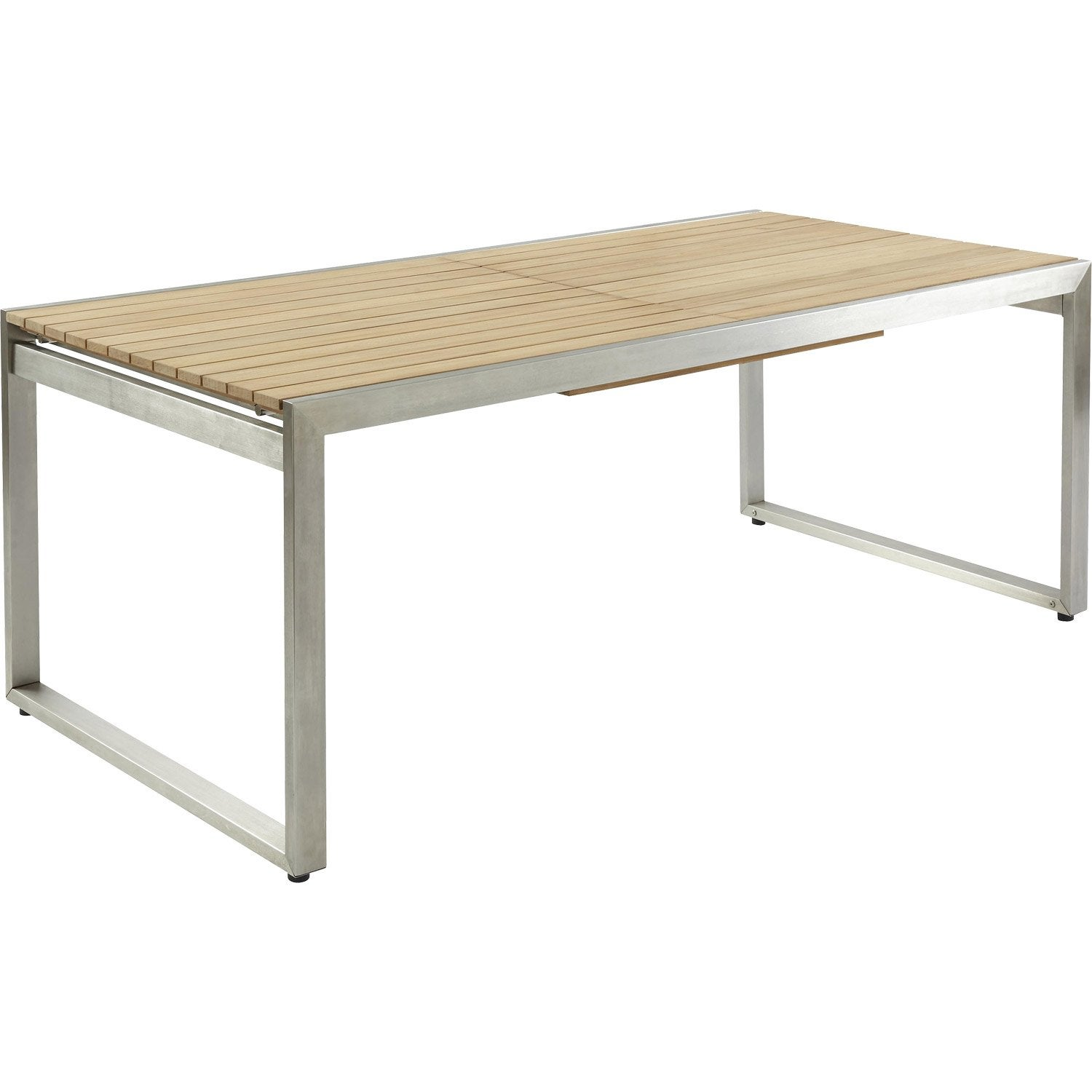 Table bois jardin leroy merlin for Banco jardin leroy merlin