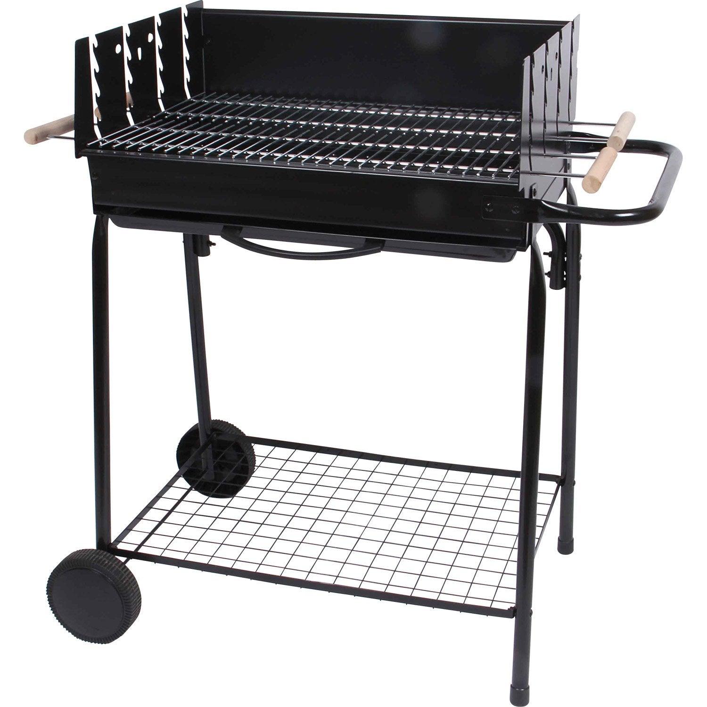 Barbecue au charbon de bois teide leroy merlin - Barbecue charbon leroy merlin ...