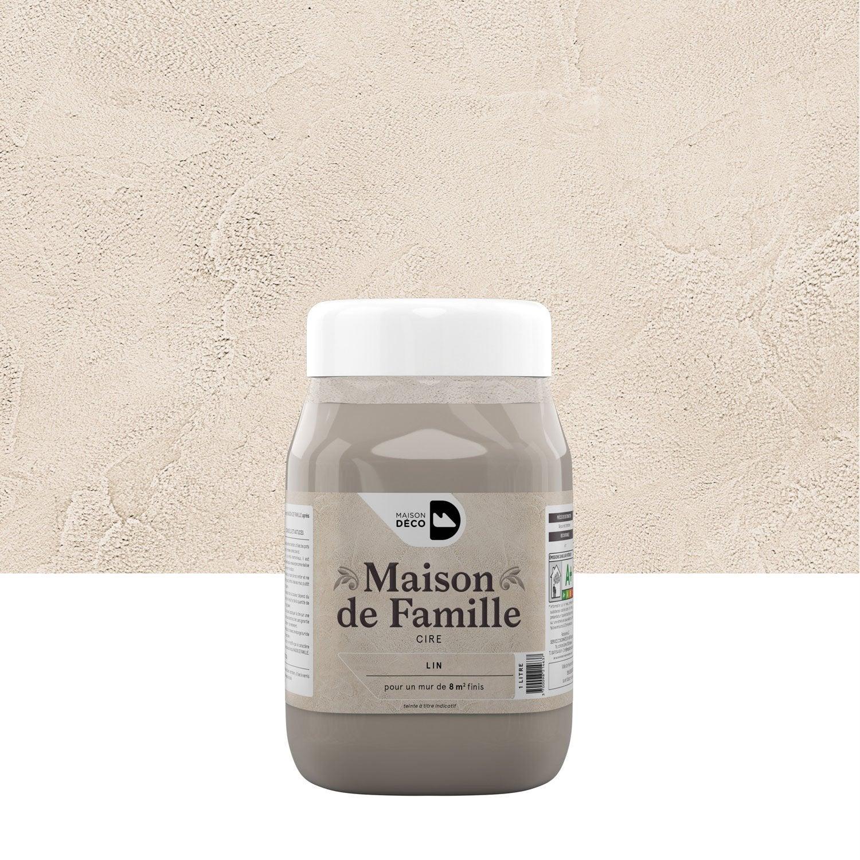 Peinture effet maison de famille maison deco lin 1 l for Peinture effet ceruse leroy merlin