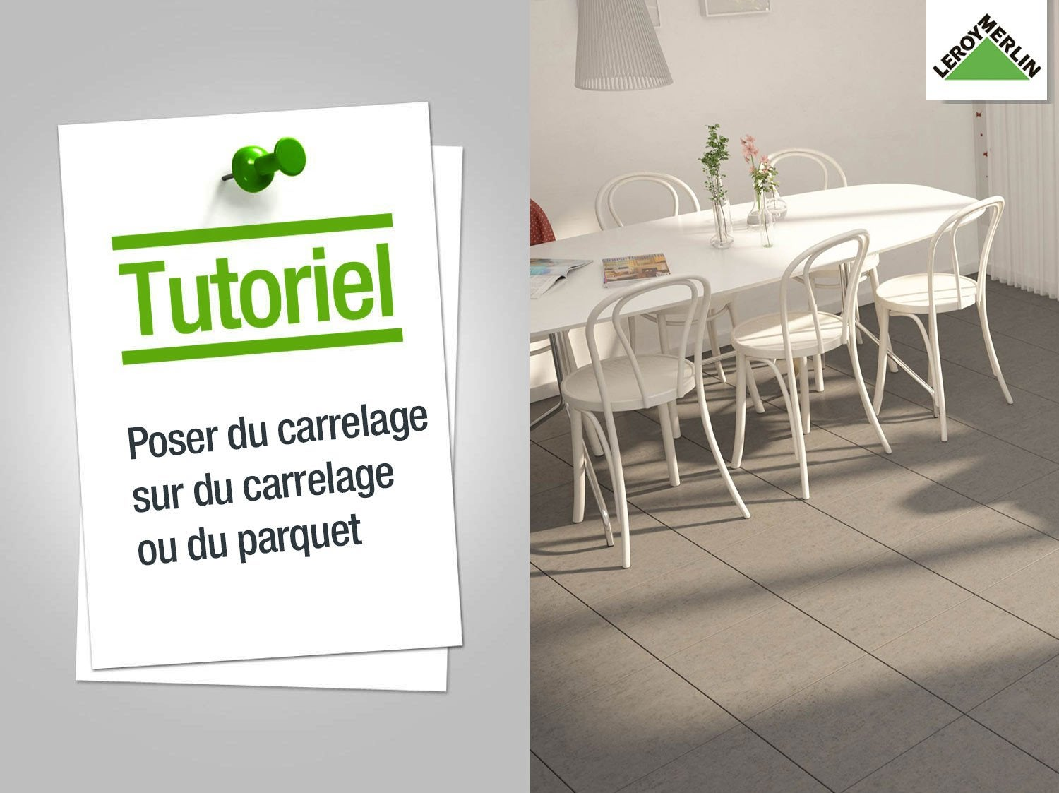 Comment poser du carrelage for Poser du carrelage sur carrelage