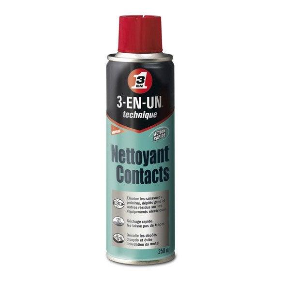 Bombe Nettoyant Contact électronique : nettoyant contact en a rosol 250 ml 3 en un technique ~ Edinachiropracticcenter.com Idées de Décoration