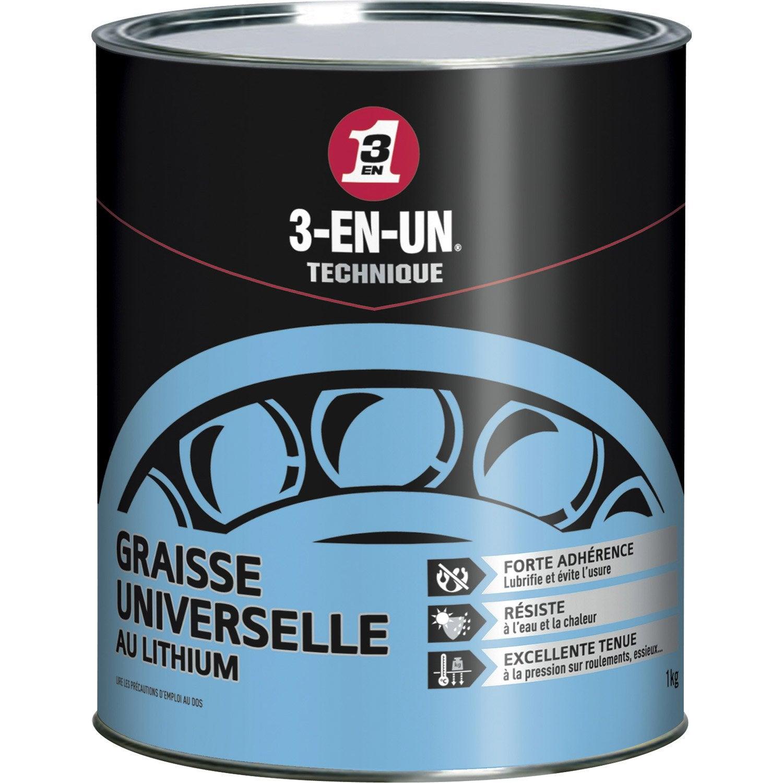 graisse universelle au lithium en pot 1000 g 3 en un. Black Bedroom Furniture Sets. Home Design Ideas