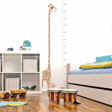 pochoir taille xl girafe toise maison deco leroy merlin. Black Bedroom Furniture Sets. Home Design Ideas