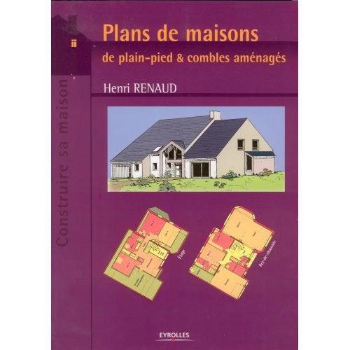 Plans de maisons de plain pied combles am nag s - Pied plan de travail leroy merlin ...