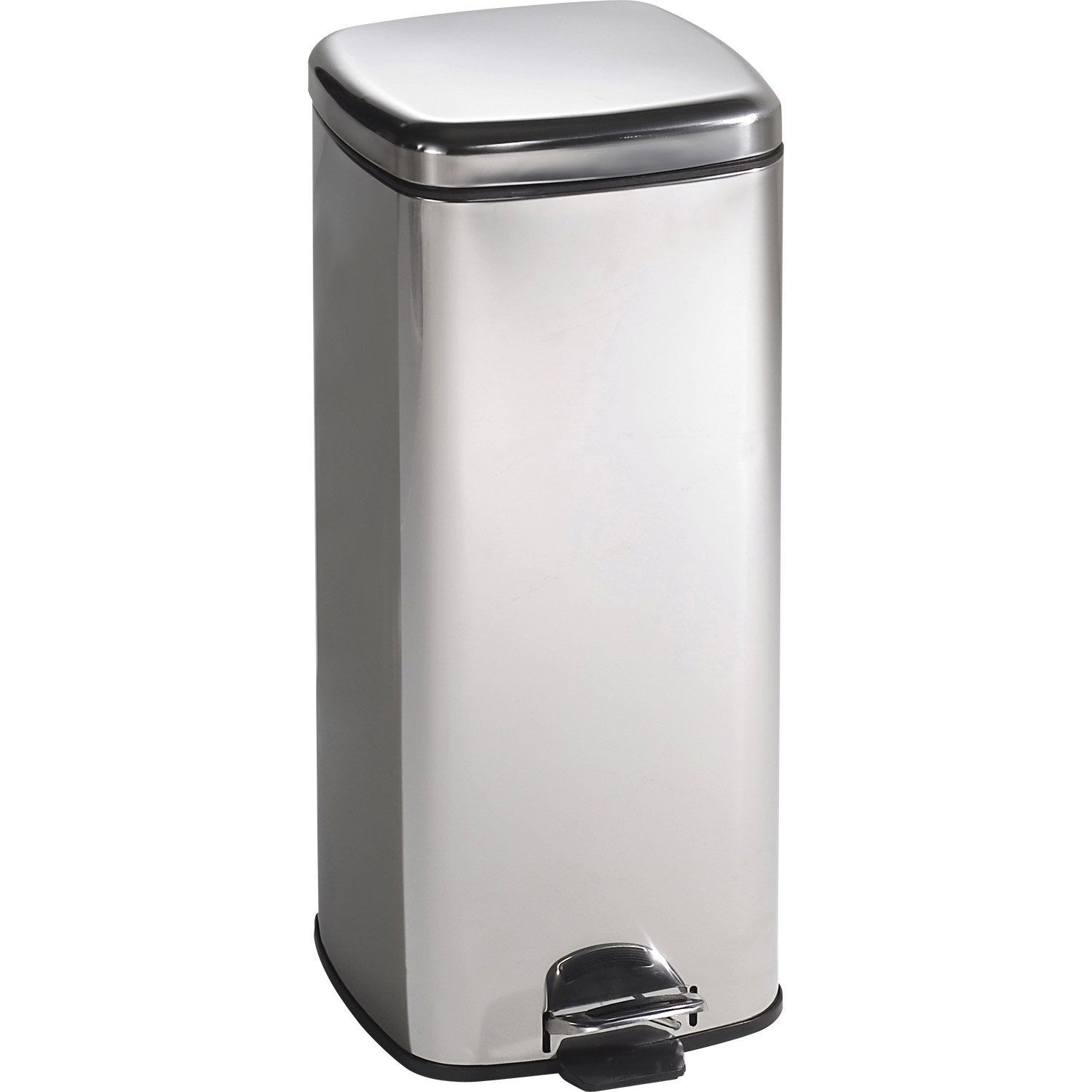 Poubelle de cuisine 50 l inox pictures to pin on pinterest - Poubelle cuisine rectangulaire ...