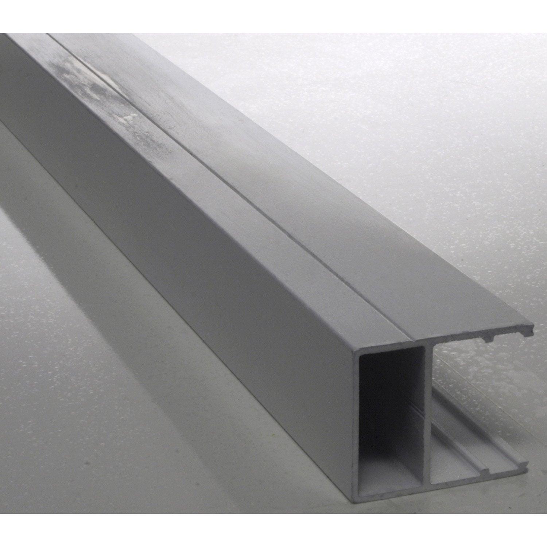 Profil bordure pour plaque ep 16 mm aluminium l 3 m leroy merlin - Plaque en aluminium pour cuisine ...
