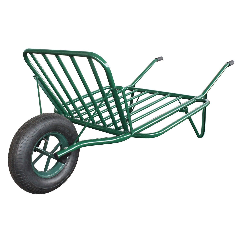 brouette 1 roue une en acier peint altrad 180 kg leroy merlin. Black Bedroom Furniture Sets. Home Design Ideas
