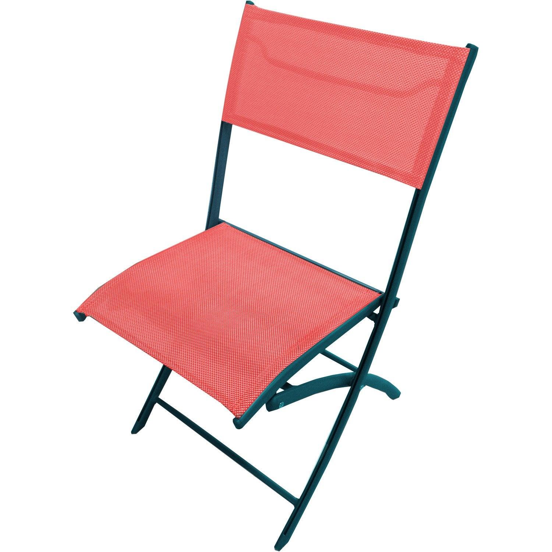 Chaise de jardin en aluminium corail leroy merlin - Leroy merlin griffe de jardin lyon ...
