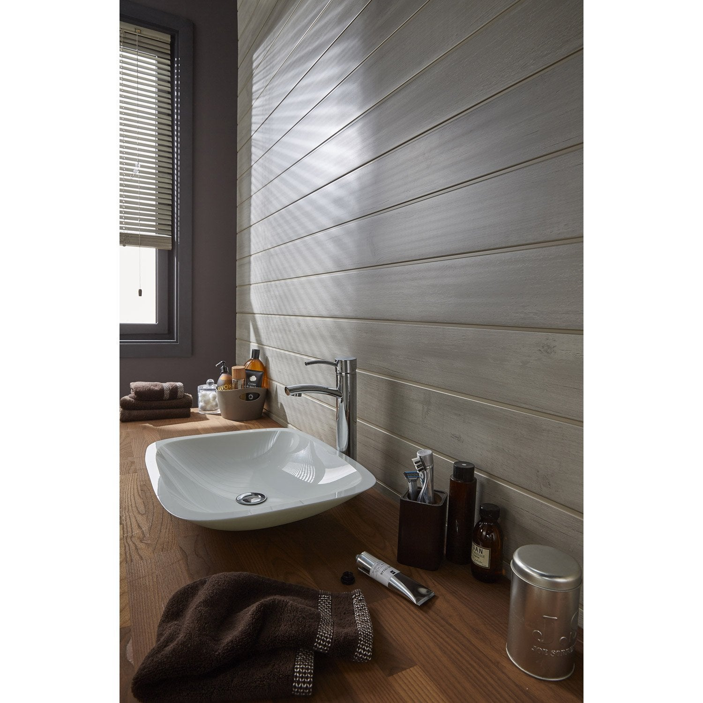 Lambris salle de bain humidite for Lambris pvc dans salle de bain