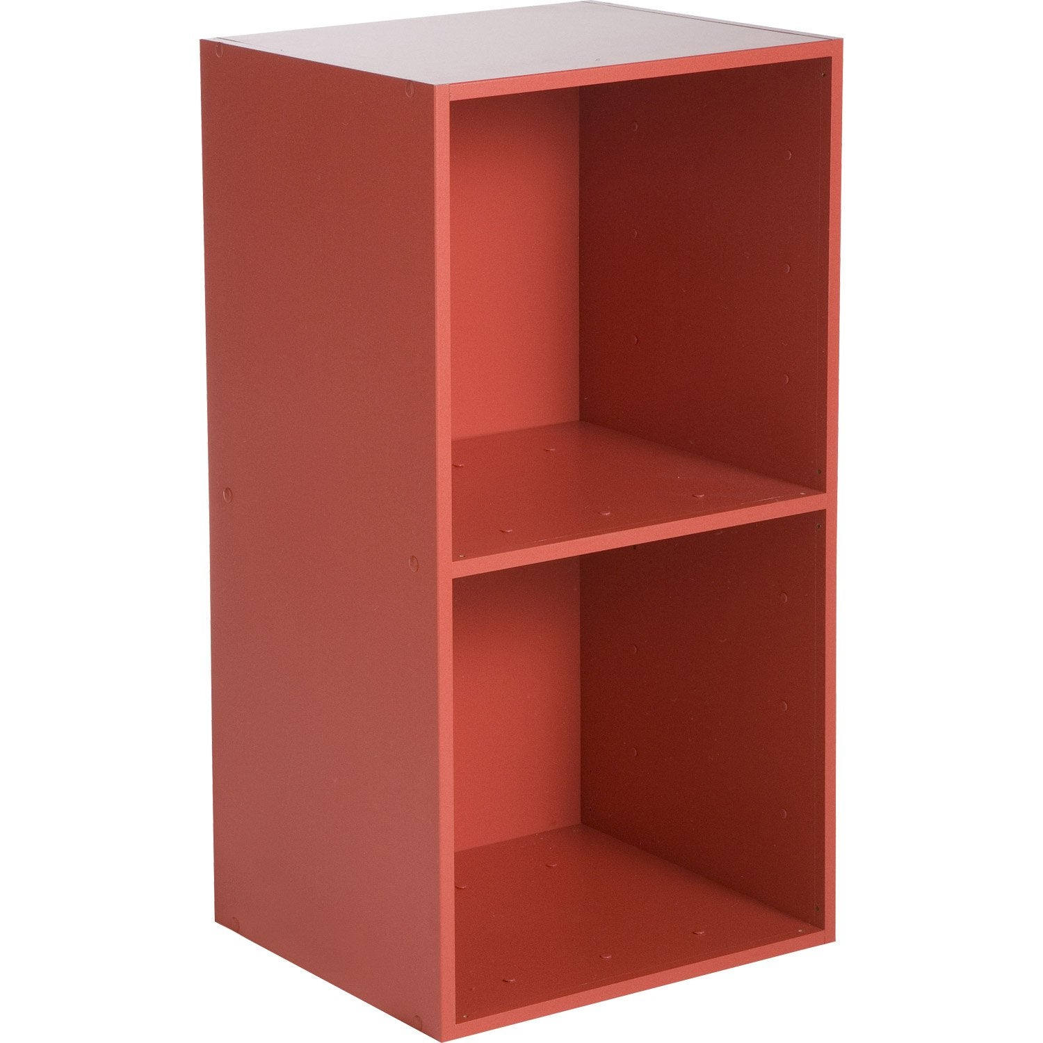 Etag re 2 cases multikaz rouge x x cm leroy merlin - Leroy merlin etagere metal ...