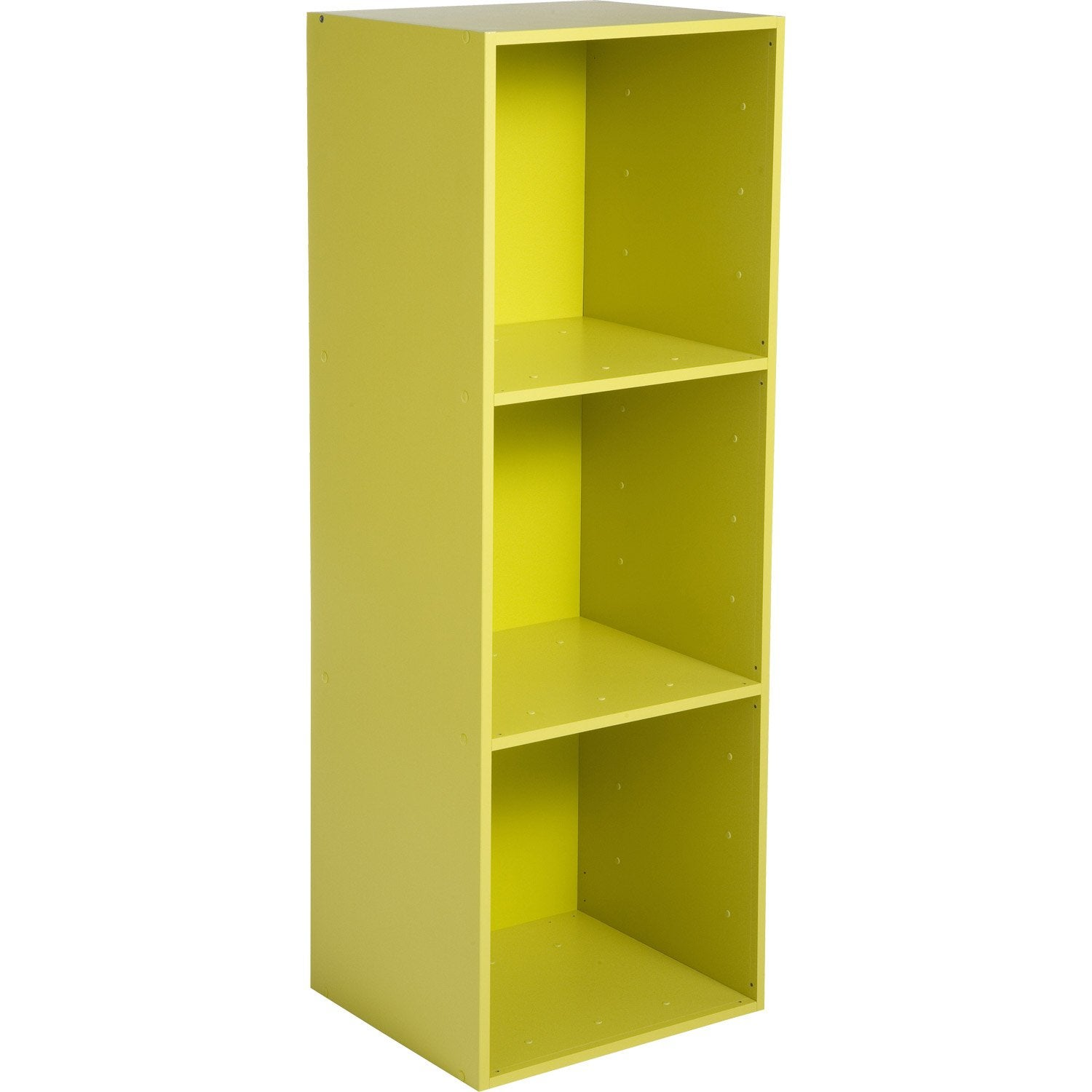 Etag re 3 cases multikaz vert l35 2 x h103 2 x p31 7 cm - Etagere sur mesure leroy merlin ...