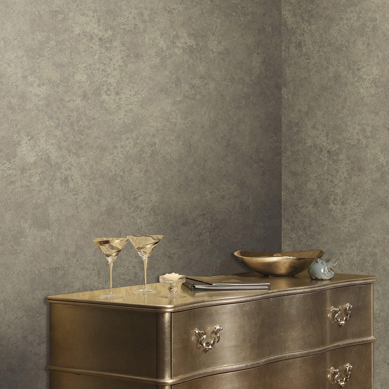 papier peint intiss brique marbre taupe leroy merlin. Black Bedroom Furniture Sets. Home Design Ideas