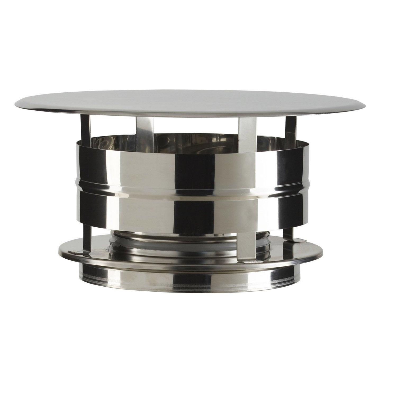 chapeau aspirateur poujoulat 150 mm leroy merlin. Black Bedroom Furniture Sets. Home Design Ideas