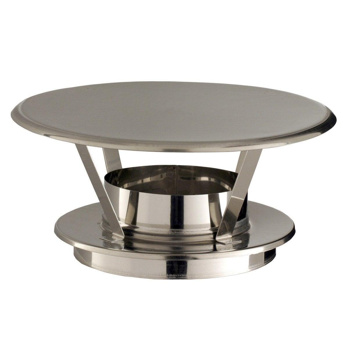 chapeau pare pluie simple poujoulat 180 mm leroy merlin. Black Bedroom Furniture Sets. Home Design Ideas