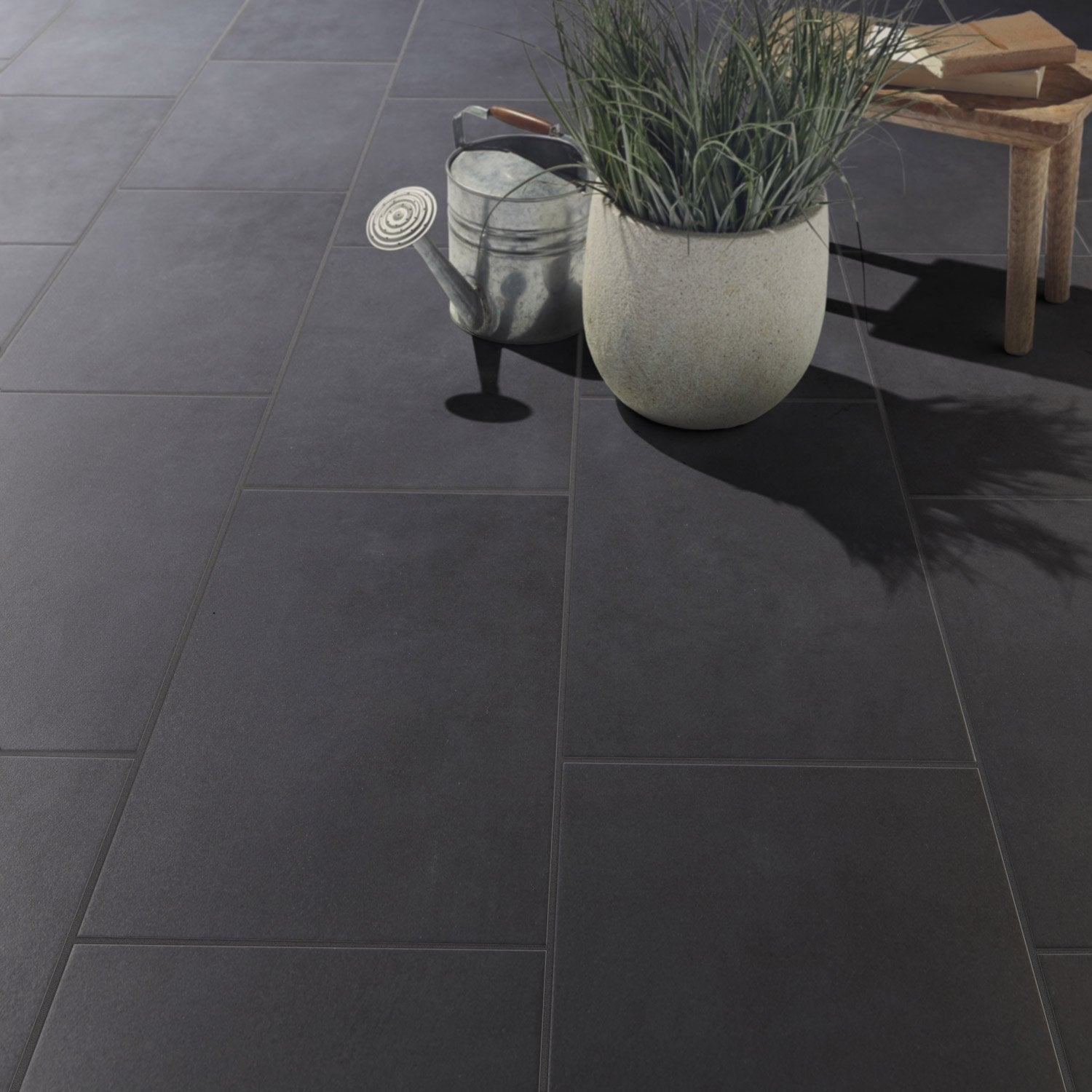 Carrelage gris pas cher for Carrelage gris anthracite