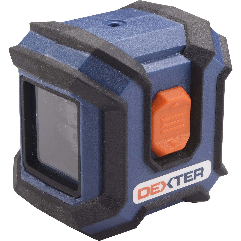 Niveau laser croix dexter dl2 leroy merlin for Niveau laser exterieur stanley