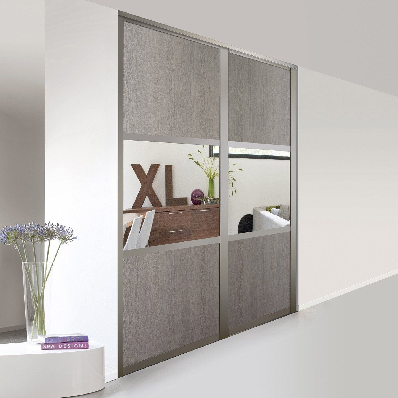 porte de placard coulissante sur mesure optimum bolero de. Black Bedroom Furniture Sets. Home Design Ideas
