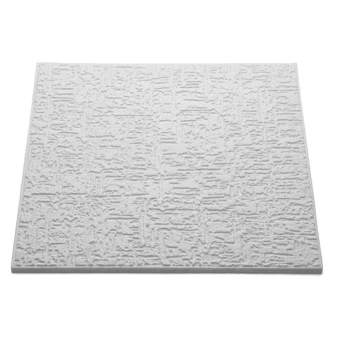 Dalle de plafond t 102 50 x 50 cm p 10 mm polystyr ne - Polystyrene expanse leroy merlin ...