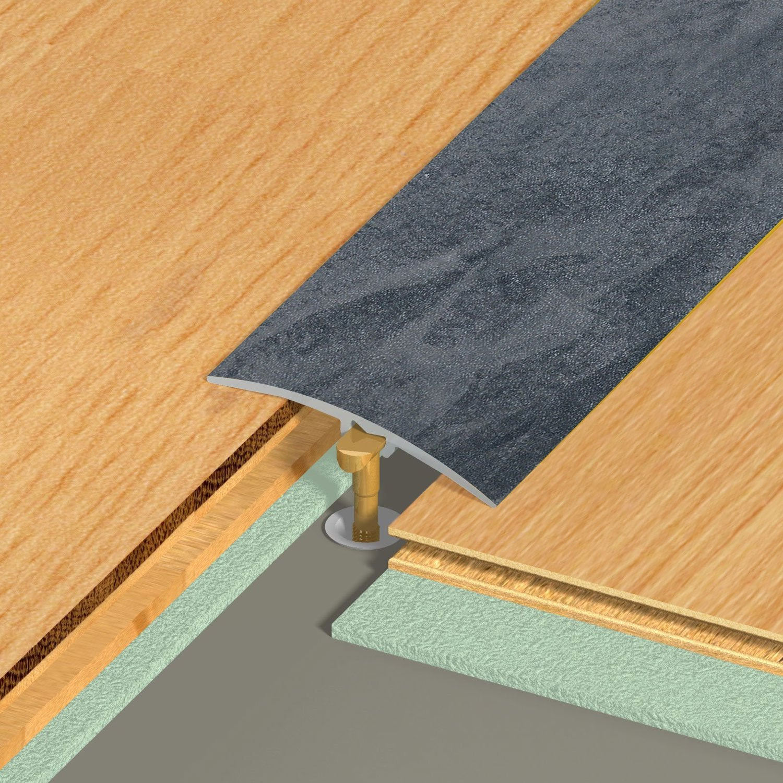 barre de seuil multi niveaux dinac decor chene 2 7x270. Black Bedroom Furniture Sets. Home Design Ideas