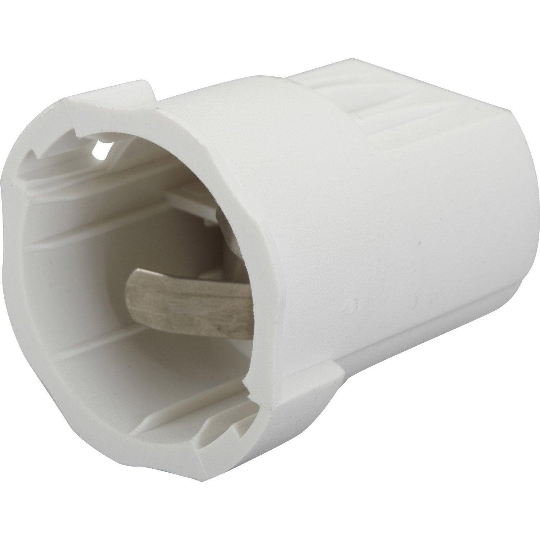 Lot de 20 douilles lectriques automatique b22 nylon blanc leroy merlin - Aspirateur chantier leroy merlin ...