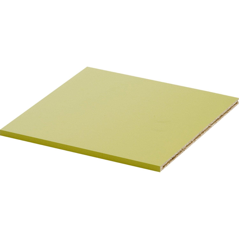 Tablette multikaz vert l32 8 x p31 4 cm ep12mm leroy merlin - Tablette verre leroy merlin ...