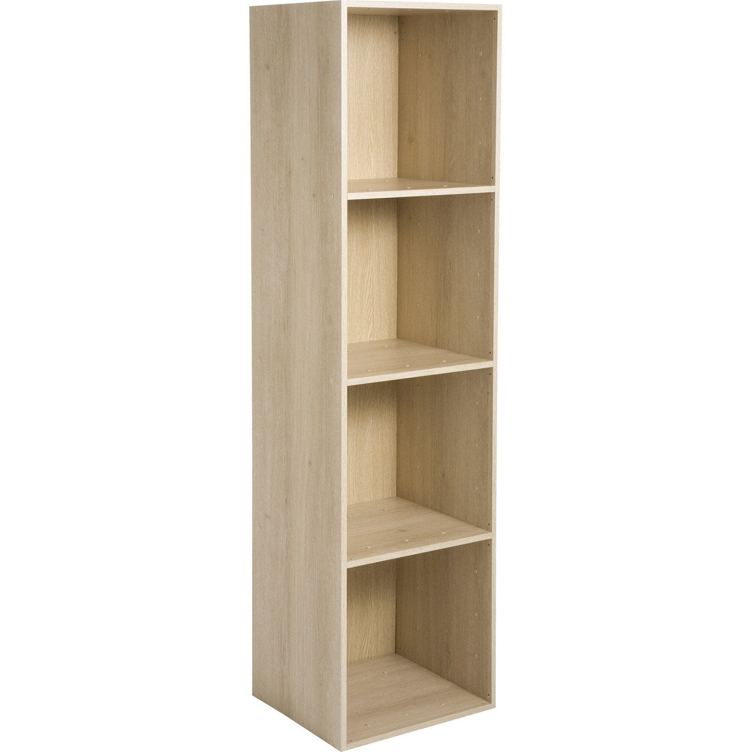Etag re 4 cases multikaz effet ch ne x x p - Etagere modulable leroy merlin ...