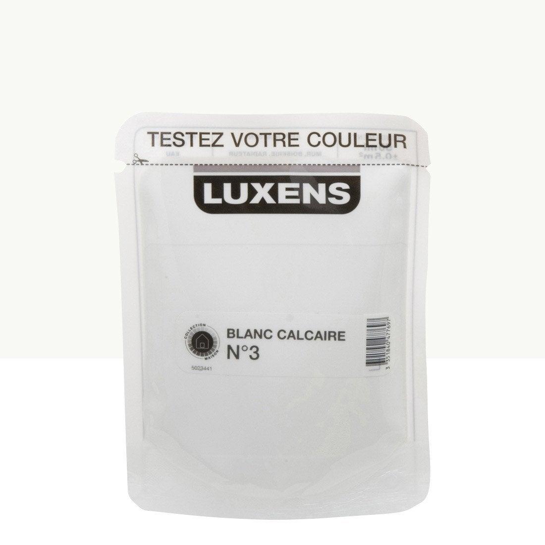 Couleur peinture luxens avec des id es - Peinture luxens blanc satin ...