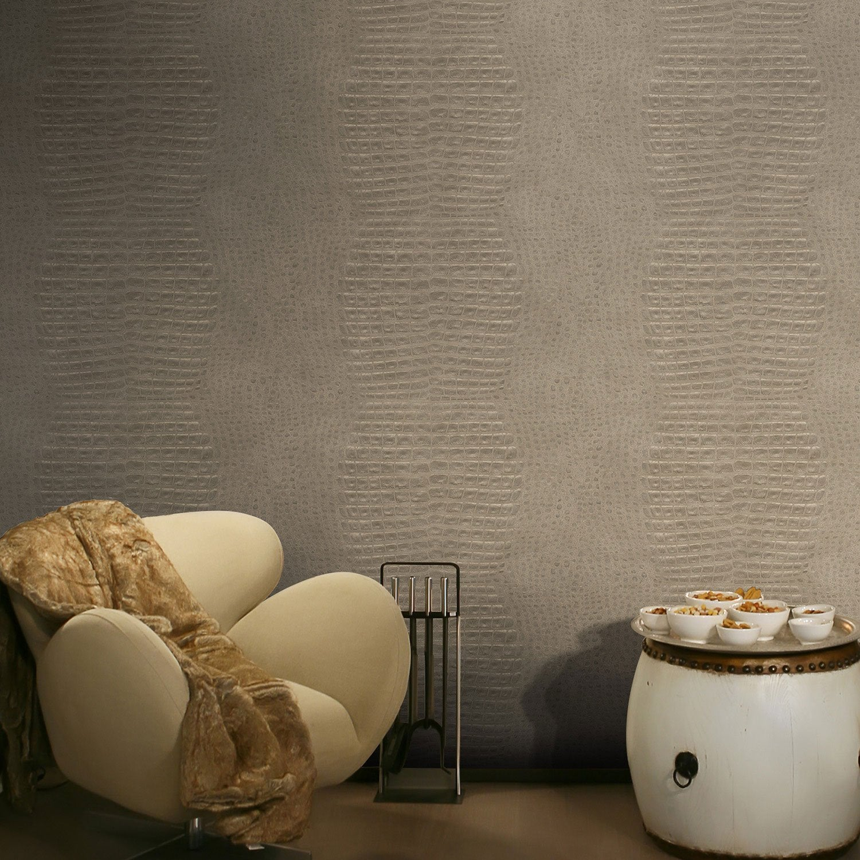 papier peint vinyle sur intiss jakara lin larg m. Black Bedroom Furniture Sets. Home Design Ideas
