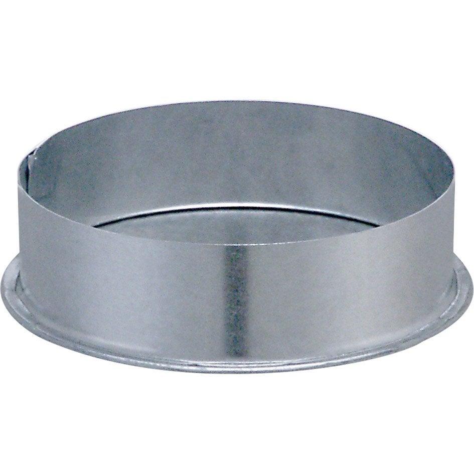 Apollo pellets pour conduit double paroi isotip joncoux mm ep 0 4 mm l - Chapeau pour conduit de cheminee ...