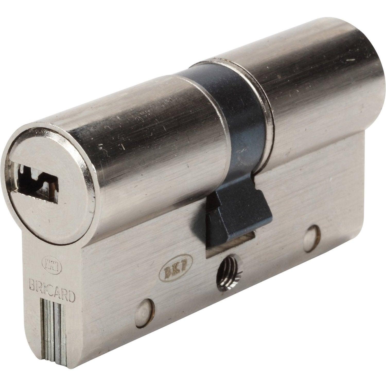 Cylindre de serrure d brayable mm bricard trial s leroy merlin - Cylindre de porte ...