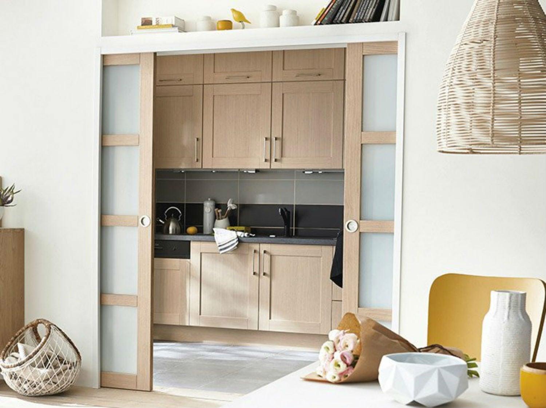 Une chambre presque invisible leroy merlin for Ouvrir sa cuisine sur le sejour