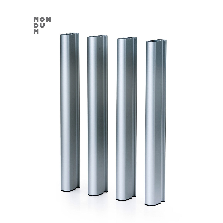patte de fixation rectangulaire aluminium leroy merlin. Black Bedroom Furniture Sets. Home Design Ideas